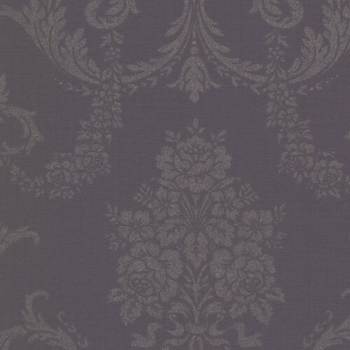 Brewster Home Fashions Buckingham Chambers Floral Damask Wallpaper