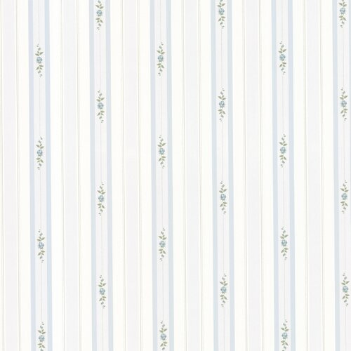 Brewster Home Fashions Dollhouse Belle Stripe Wallpaper