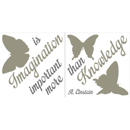 Brewster Home Fashions Home Décor Imagination Wall Decal