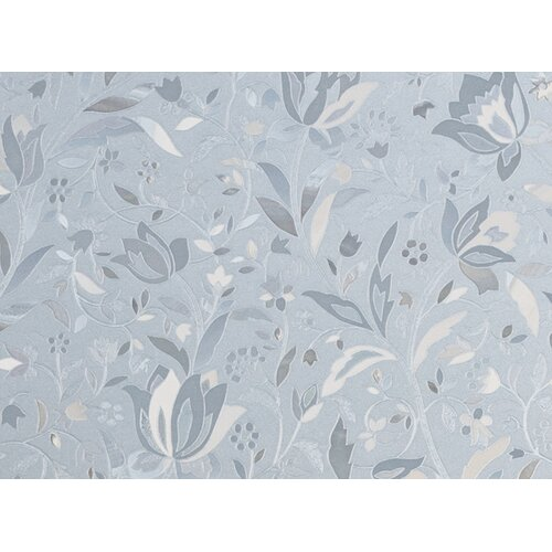 Brewster Home Fashions Premium Floral Sidelight Window Film