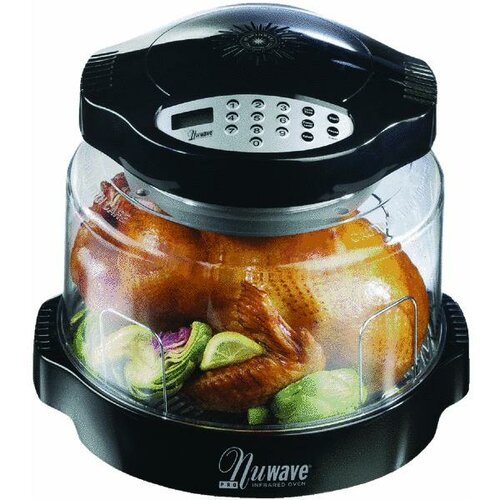 NuWave Pro Digital-Controlled Infrared Tabletop Oven with Extender Ring