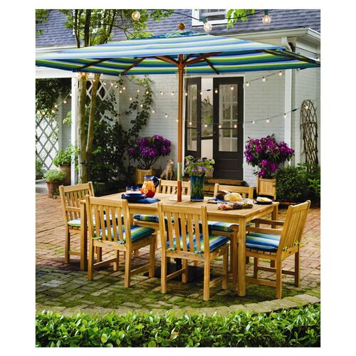 Oxford Garden Hampton Rectangular Dining Table