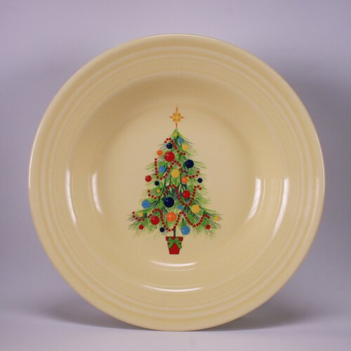 Fiesta ® Christmas Tree Rim Soup Bowl