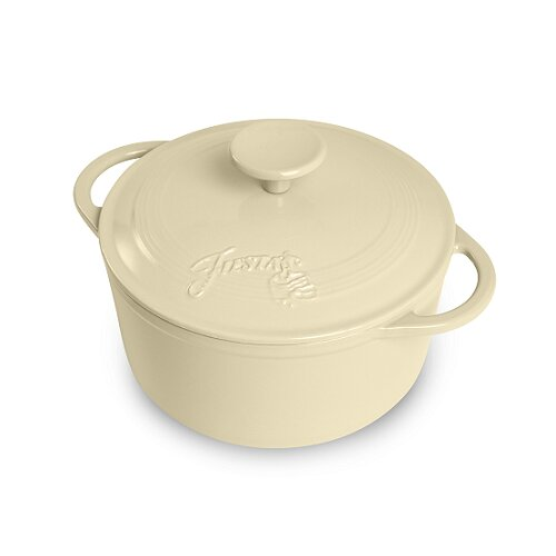 3.4-qt. Cast Iron Round Dutch Oven
