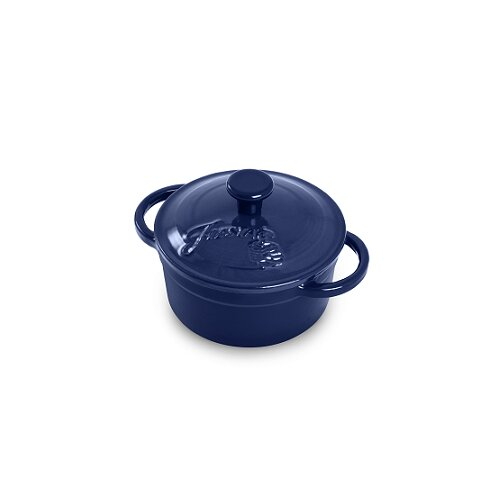 0.35 Qt. Cast Iron Round Mini Casserole