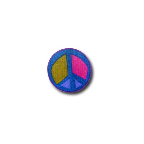 "One World 3.5"" Peace Sign Knob"