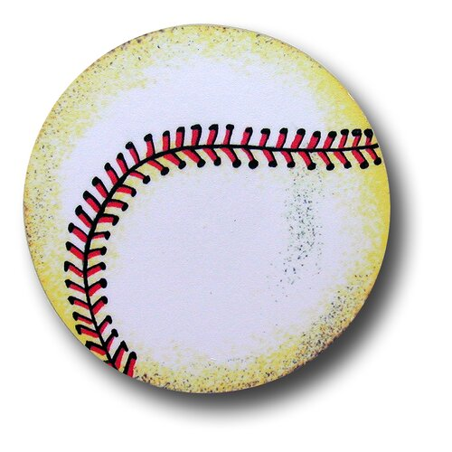 "One World 3"" Baseball Knob"