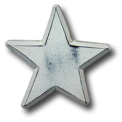 "One World 3"" Star Knob"