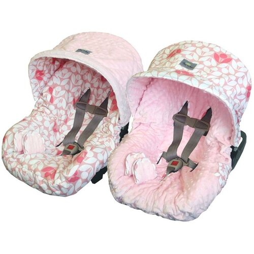 Baby Ritzy Rider Infant Modern Floral Car Seat Cover