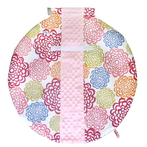 Wrap and Roll Infant Carrier Fresh Bloom Arm Pad and Tummy Time Mat