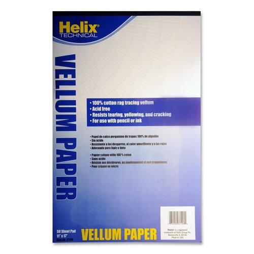 Helix USA Vellum Pad