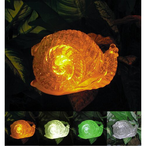 Solar Snail with Color Change Lighting