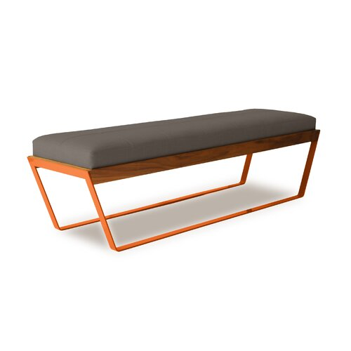 Elemental Living Sylis Leather Entryway Bench
