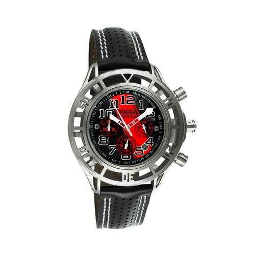 Equipe Mustang Boss 302 Mens Watch with Chrome Case and Black Dial