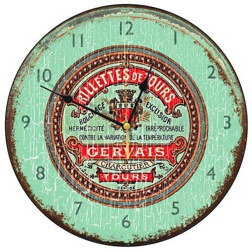Roger Lascelles Clocks Herbes De Provence Wall Clock ...