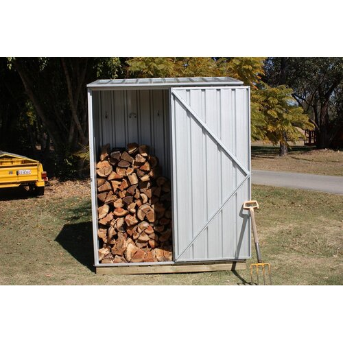 Absco Spacesaver 5ft. W x 31in. D Steel Tool Shed