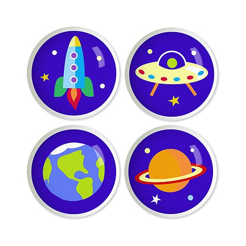Out of This World Round Knob (Set of 4)
