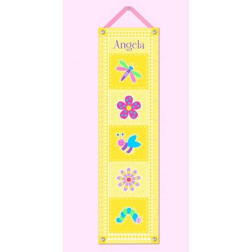 Olive Kids Flower Land Personalized Growth Chart