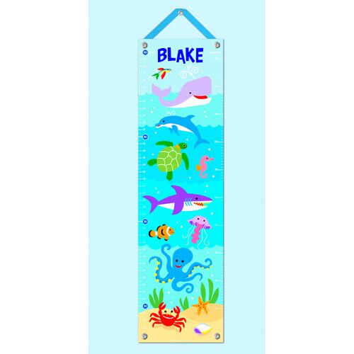 Olive Kids Ocean Personalized Growth Chart