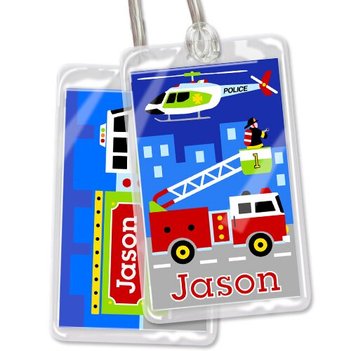 Olive Kids Heroes Personalized Name Tag