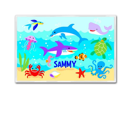 Olive Kids Ocean Personalized Placemat