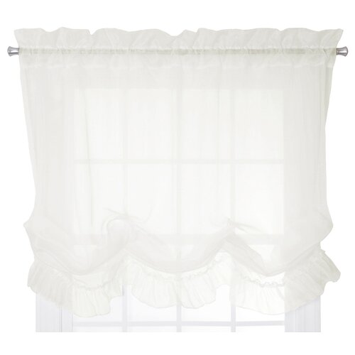 Commonwealth Home Fashions Hathaway Linen Tie Up Shade