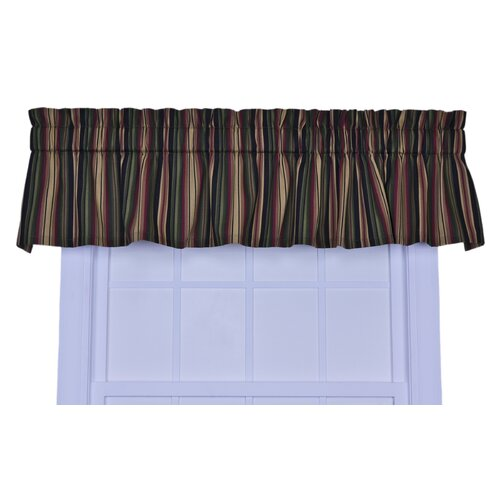 "Ellis Curtain Montego Stripe 85"" Curtain Valance"