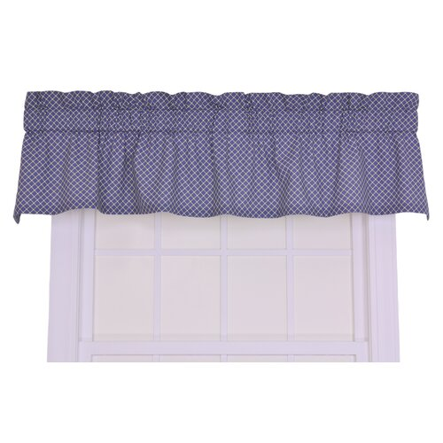 "Ellis Curtain Tremblay / Tyvek Small Scale Diamond 70"" Curtain Valance"