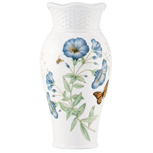 Lenox Butterfly Meadow Basket Medium Vase