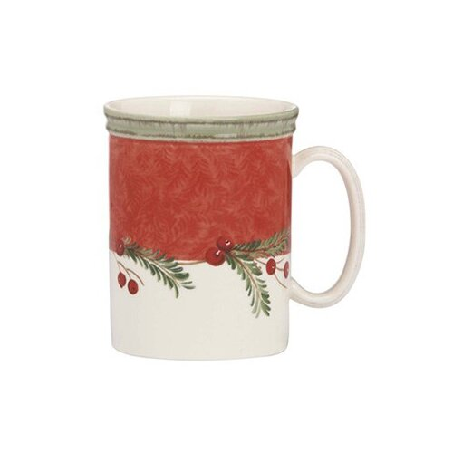 Lenox Holiday Wreath 14 oz. Mug