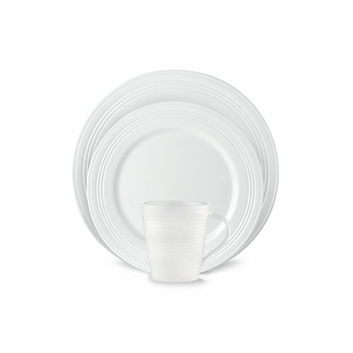 Tin Can Alley Four Degree 12 Piece Dinnerware Set