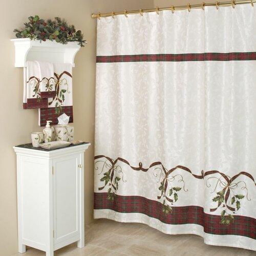 Holiday Nouveau Cotton Rod Pocket Curtain Single Panel