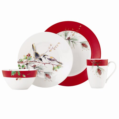 Winter Song 4 Piece Place Setting