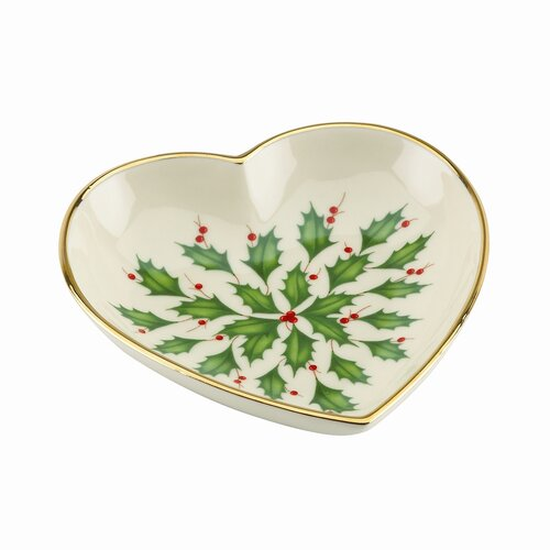Lenox Holiday Heart Dish