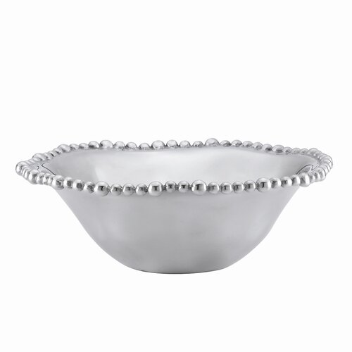 Lenox Organics Bead Aluminum Alloy Beaded Bowl