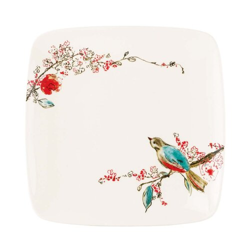 "Lenox Chirp 8.5"" Square Accent Plate"