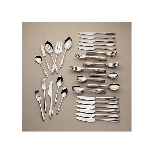 Lenox Sculpt 65 Piece Flatware Set