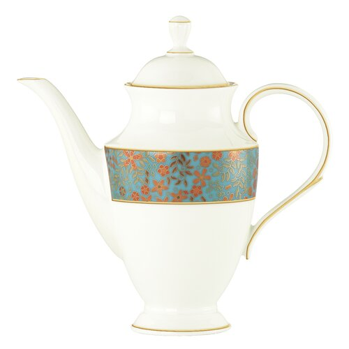 Gilded Tapestry 6 Cup Coffee Server with Lid