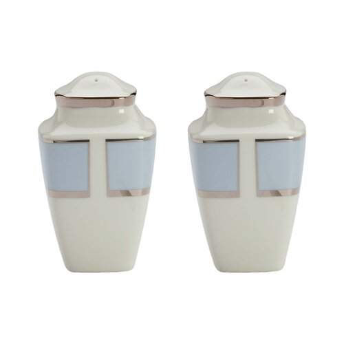 Lenox Frost Square Salt and Pepper Shaker Set