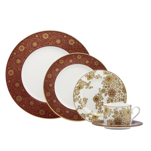 Floral Majesty 5 Piece Place Setting