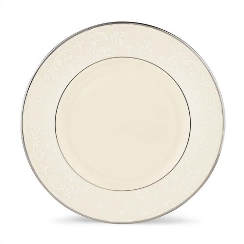"""Lenox Pearl Innocence 9"""" Accent Plate"""