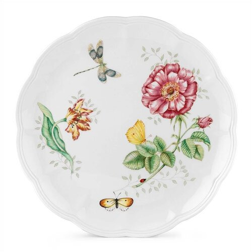 "Lenox Butterfly Meadow 10.75"" Dragonfly Dinner Plate"
