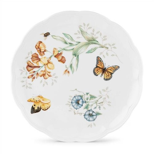 "Lenox Butterfly Meadow 10.75"" Monarch Dinner Plate"