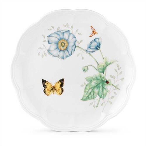 "Lenox Butterfly Meadow 9"" Monarch Accent Plate"
