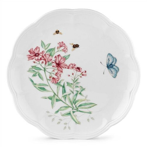 "Lenox Butterfly Meadow 9"" Tiger Swallowtail Accent Plate"