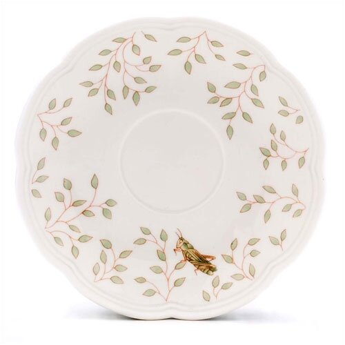 "Lenox Butterfly Meadow 6"" Saucer"