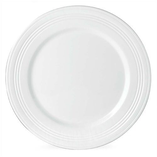 """Lenox Tin Can Alley 11"""" Four Degree Dinner Plate"""