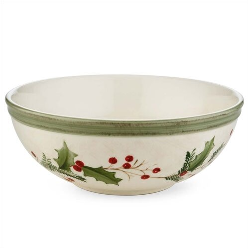 Lenox Holiday Gatherings Berry All Purpose Bowl