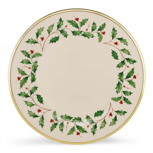 "Lenox Holiday 10.5"" Dinner Plate"