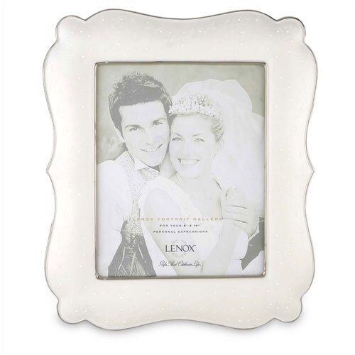 Lenox Opal Innocence Domed Top Picture Frame